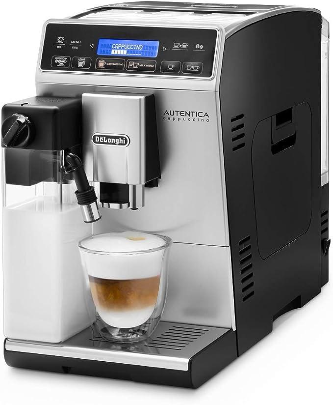 DeLonghi Autentica Cappuccino ETAM 29.660.SB Cafetera ...