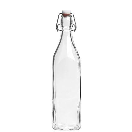 Bormioli Rocco 0004358 Botella 1L Transparente jarra, cántaro y botella - jarras, cántaros y