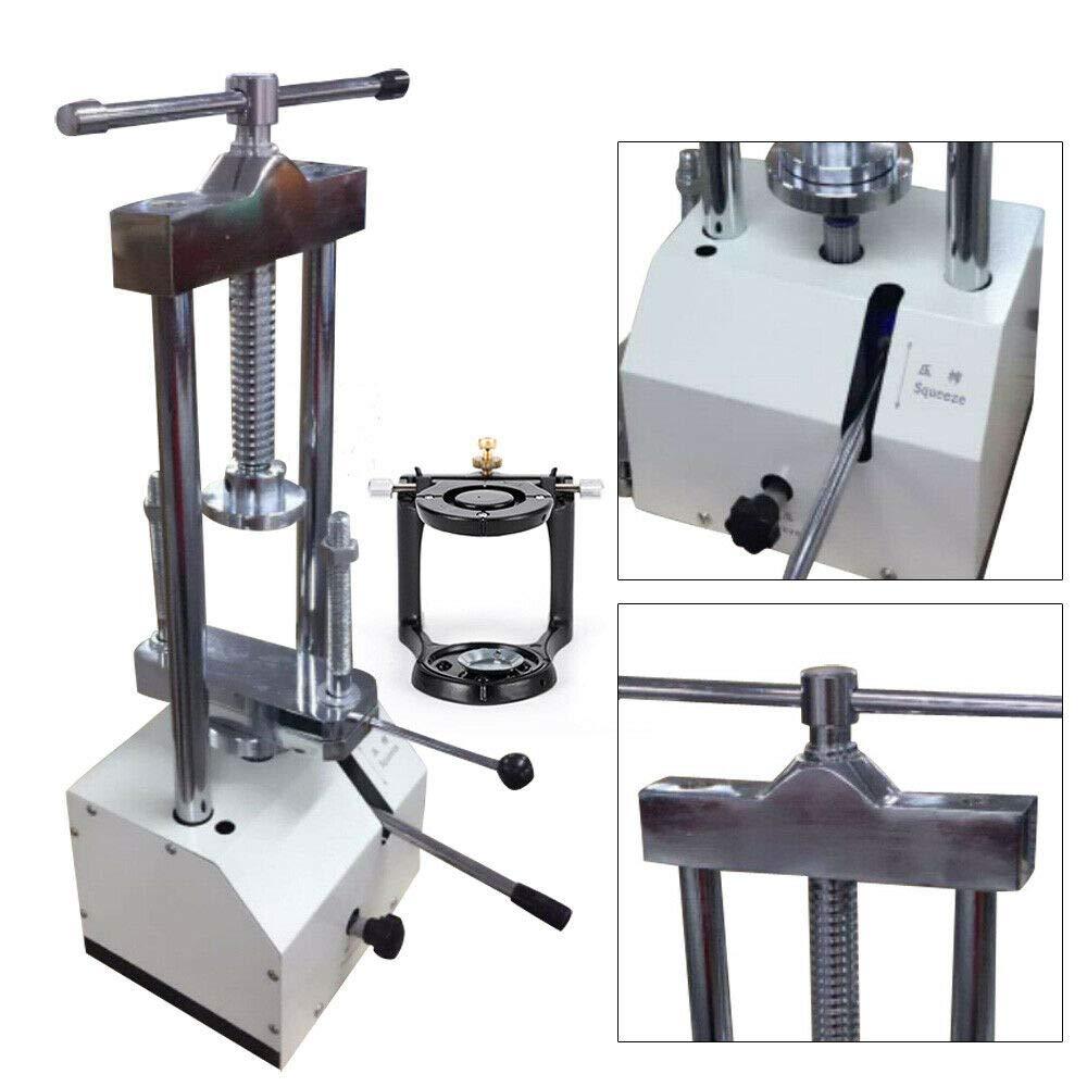 al Flask Pressure Articulator Height 80mm US Stock n t LFJD 2T D e n t al Hydraulic Press Equipment Hydraulic Presser D e