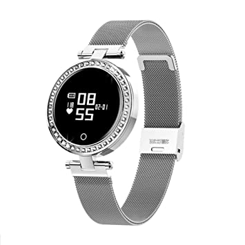 ZLOPV Pulsera Reloj Elegante para Mujer Reloj Elegante para ...