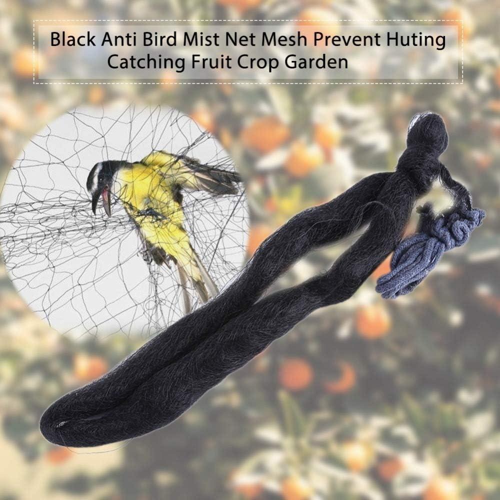 Schwarz Anti-Vogel-Nebel-Netz-Ineinander greifen Schutz Obst Nutzpflanze Garten Fangen Vogel-Netz Gr/ö/ße : 8x3m NO LOGO XBF-Netting