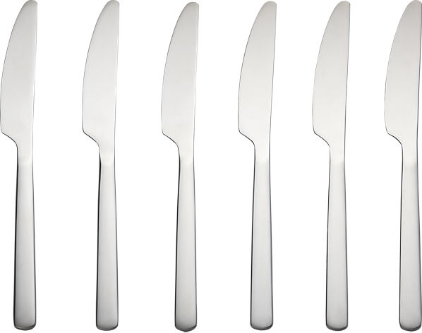 set of 6 party knives | CB2