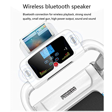 XJYA Cinta de Correr Plegable,Bluetooth Cinta de Correr eléctrica ...