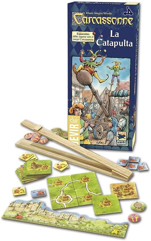Devir - Carcassonne La Catapulta, juego de mesa (BGPULTA): Amazon.es: Juguetes y juegos