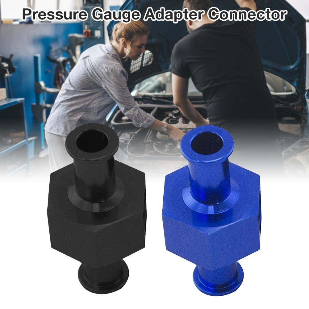 Per Modified Auto Parts Fuel Line Fuel Pressure Gauge Adapter Connector 3//8 HOSE WITH 1//8 NP