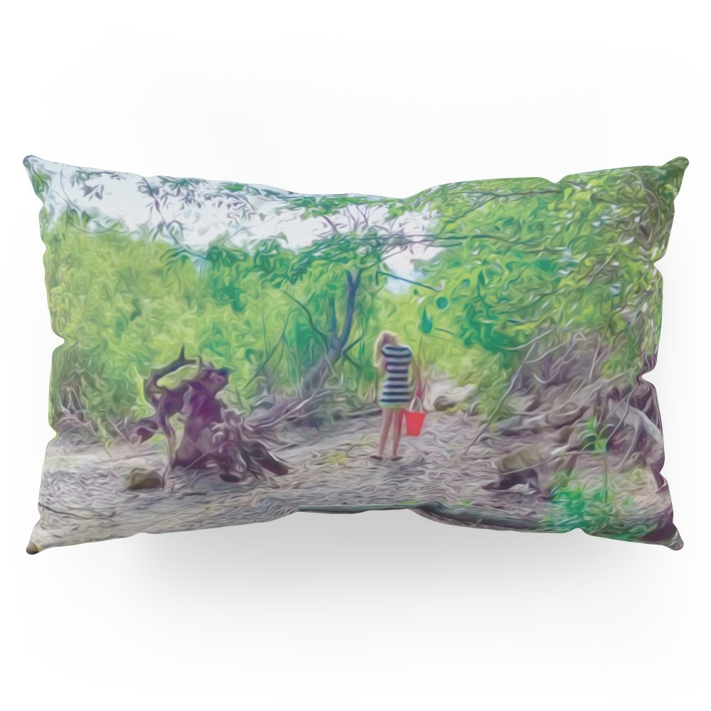 Society6 Bucket Explorer In The Woods Pillow Sham King (20'' x 36'') Set of 2