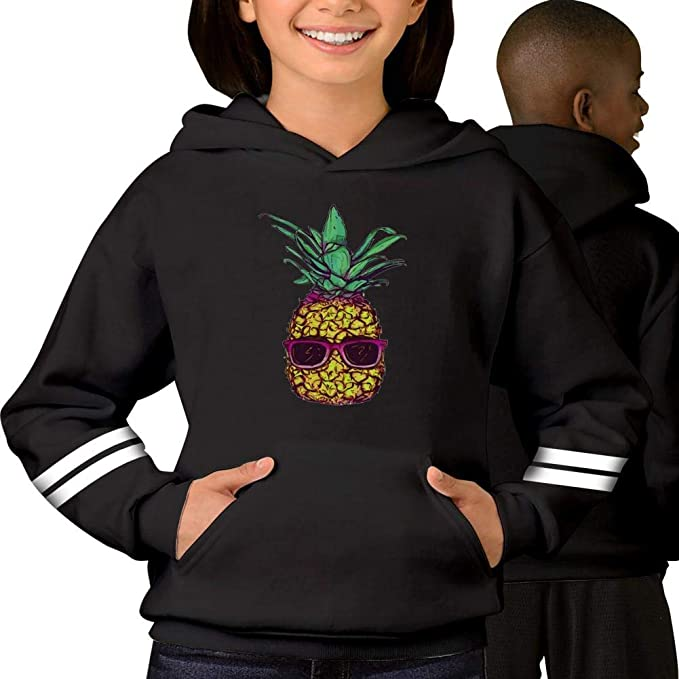 Amazon.com TEEnsm Cool Pineapple Sunglasses Youth Fullover