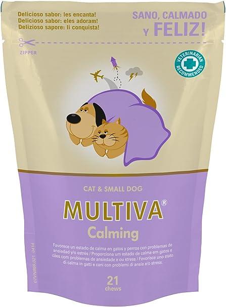 Vetnova Multiva Calmante Natural para Gatos - 21 Chews: Amazon.es: Productos para mascotas