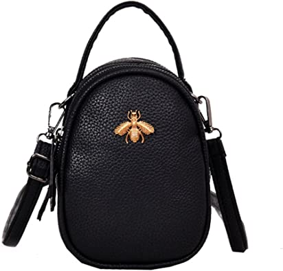 Women Circular Buckle Retro Fashion Simple Single-shoulder Bag Messenger Bag