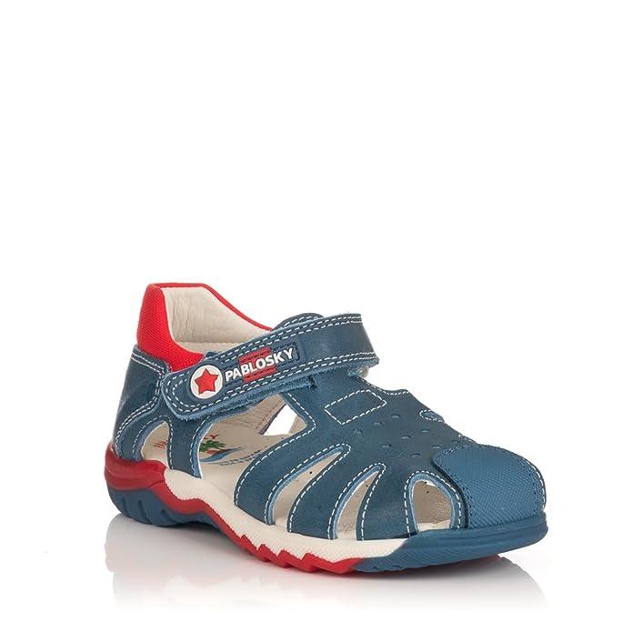 GOMEZ 029016, Tongs Pour Garçon - - Jeans, 23 EU EU