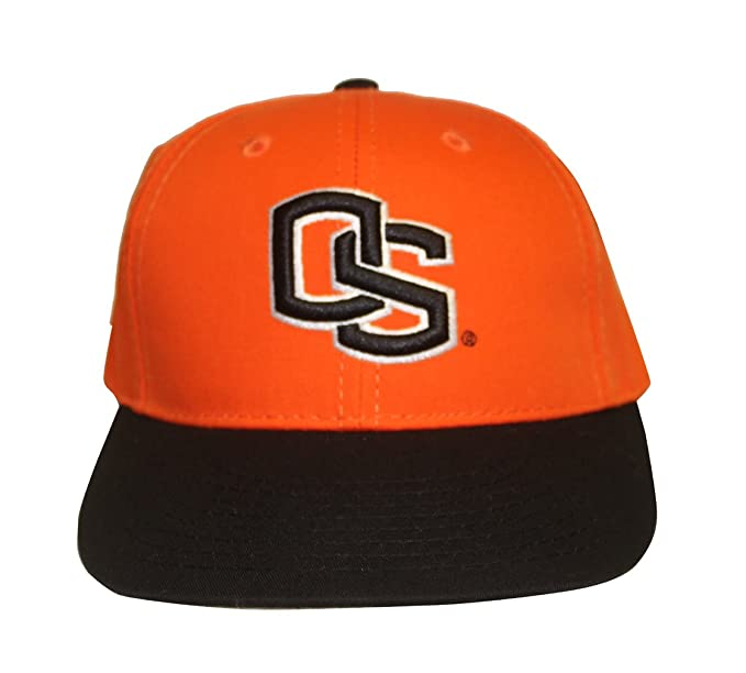 3e6662fe8e5 Image Unavailable. Image not available for. Color  Rob sTees Oregon State  University Beavers OS College Adjustable Dad Hat ...