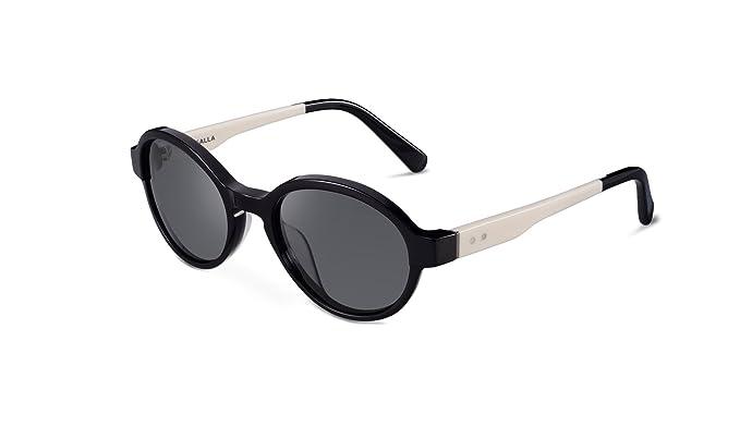 KALLA Hipster Oval Unisex gafas de sol polarizadas ...