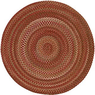 "product image for Capel Manchester Redwood 0' 15"" Round Braided Rug"