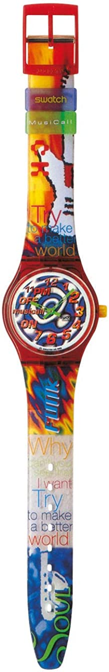 Swatch Special Musicall 1995 - SLZ103PACK - 11 Pm