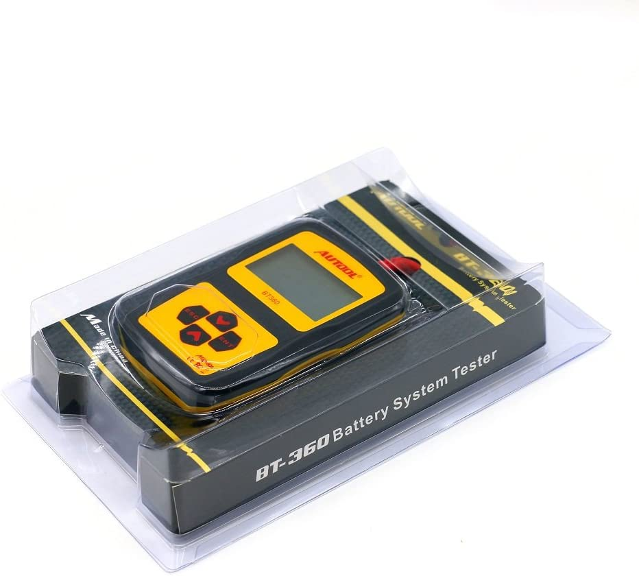 Autool BT-360 Auto Battery Testers Car Battery System Testers Diagnostic Tool