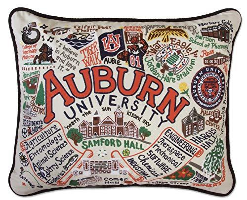 Catstudio- Auburn University Embroidered Throw Pillow - 16