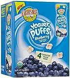 yogurt earths best - Earth's Best Yogurt Puffs - Blueberry - 1.8 oz - 4 pk