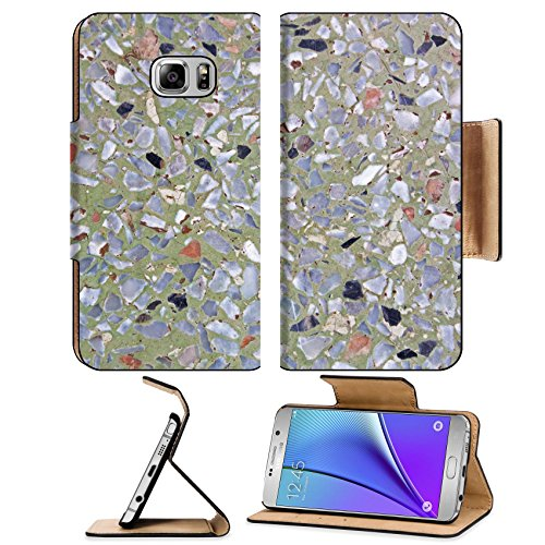 liili-premium-samsung-galaxy-note-5-flip-pu-leather-wallet-case-terrazzo-background-image-of-terrazz