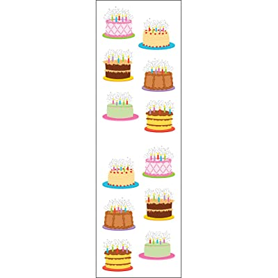 Mrs. Grossman'S Stickers-Birthday Cakes: Toys & Games