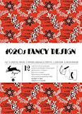 1920s Fancy Designs : Gift and creative paper book Vol.34 (Gift Wrapping Paper Book) (English and Multilingual Edition)