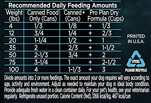 Purina Pro Plan (3810002766) Focus Sensitive Skin & Stomach Salmon & Rice Entre Classic Wet Dog Food - 12-13 oz. Cans by Purina Pro Plan (Image #4)'