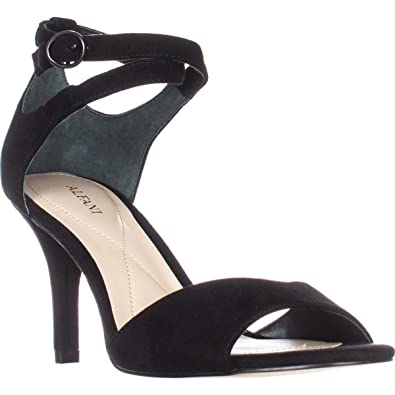 Alfani A35 Ginnii Ankle Strap Sandals Black Black Size 90