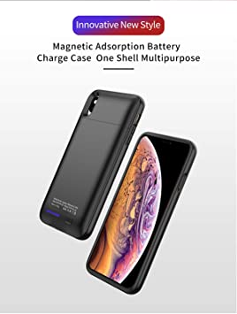 iPhone XS MAX 5000mAh Battery Charger Carcasa Bateria ...