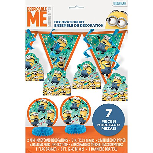 (Despicable Me Minions Party Decorating Kit,)