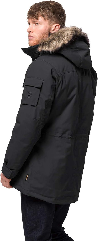 Jack Wolfskin Mens Glacier Canyon Parka Waterproof Insulated Field Jacket
