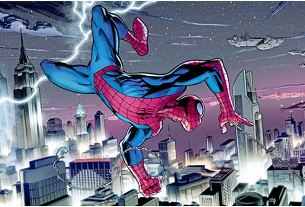 VAST Rompecabezas for la Familia del Juguete del Juego, clásico Animado Spiderman de cartón de Dibujos Animados Rompecabezas Fit 300 ~ 1000 Piezas en Caja Juguetes Arte del Juego 514: Amazon.es: Juguetes y juegos
