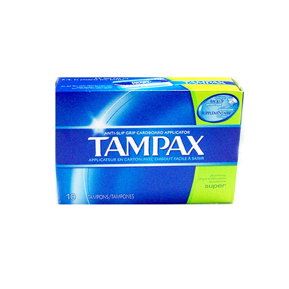 Tampax Super Tampons (10 In 1 Pack)
