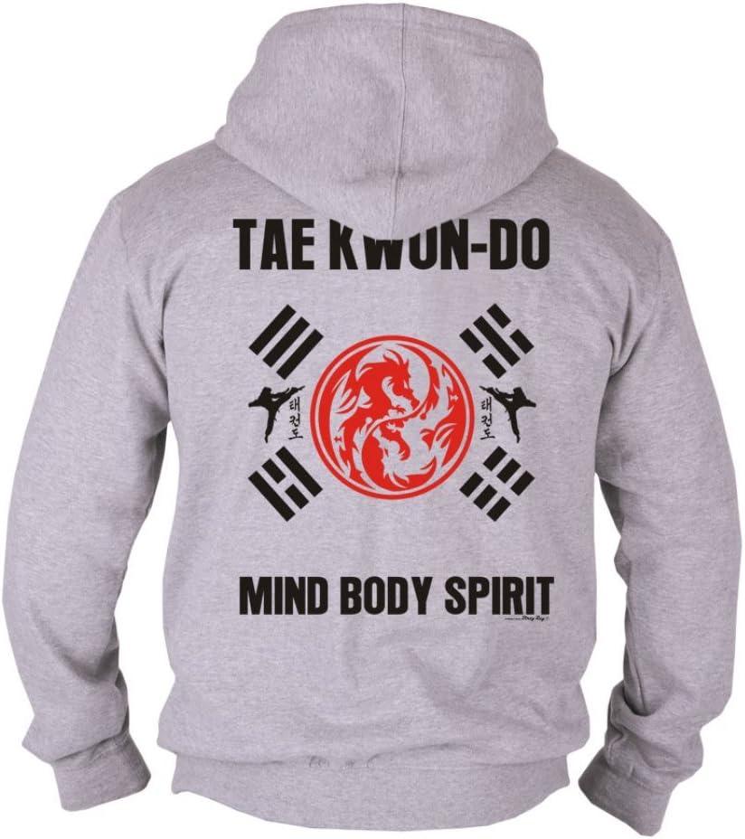Taekwon Do 5 Prinzipien Tkd Kapuzenpullover Kampfsport