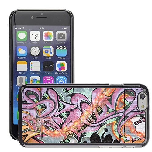 Premio Sottile Slim Cassa Custodia Case Cover Shell // V00002255 Graffiti spraypainted // Apple iPhone 6 6S 6G 4.7""