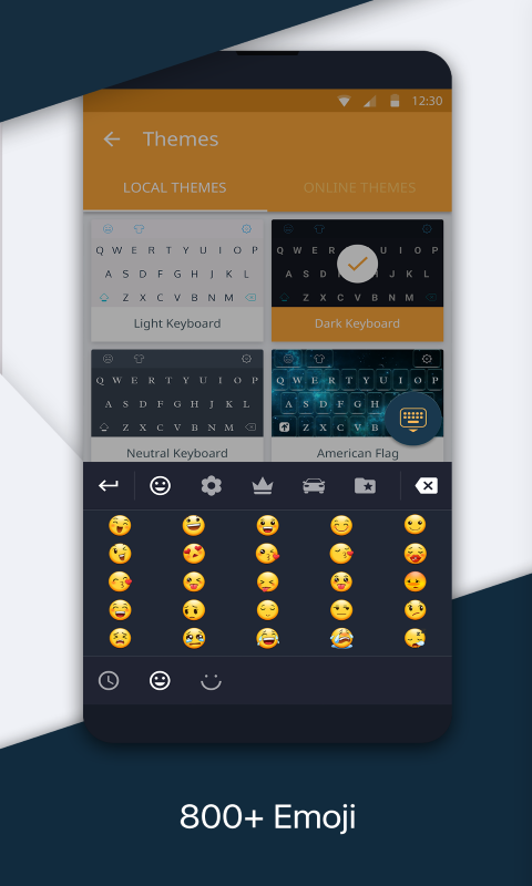 Redraw Keyboard + Emoji
