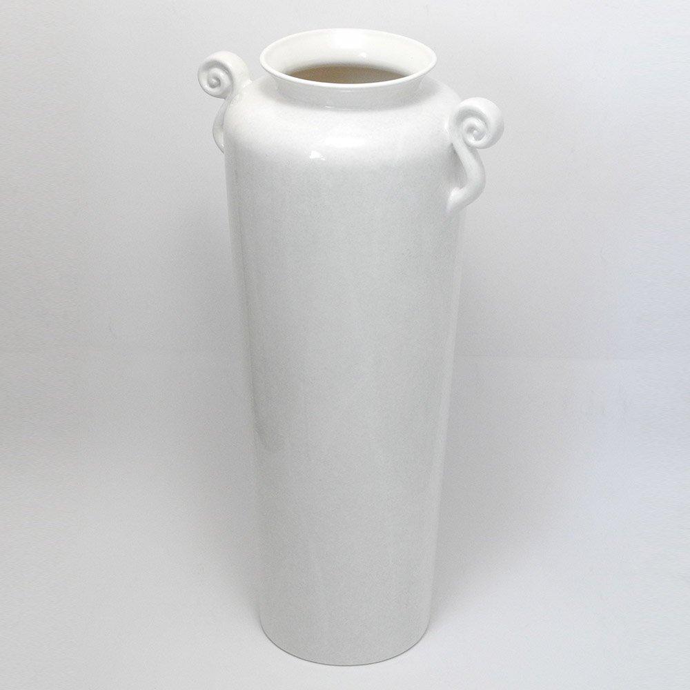 ポルトガル製 花瓶 陶器 高級 壺 マーブル ホワイト 高さ71cm pfc-6521mgr pfc-6521mgr B01N2LF1RB