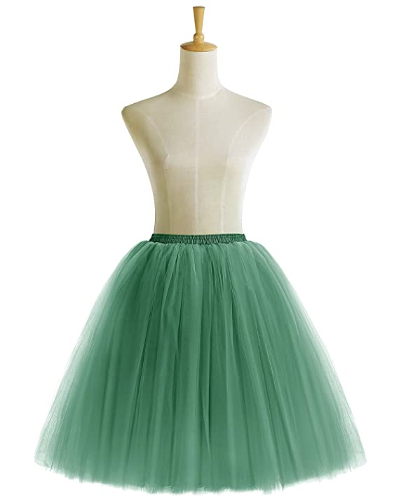 Bridesmay Womens Short Vintage Petticoat Prom Party Accessory Tutu Skirt: Amazon.co.uk: Clothing