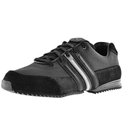 dc3d1b78d95a76 UKMiniMarket Mens Y3 Sprint Trainers Black - 9 (43 1 3)  Amazon.co ...