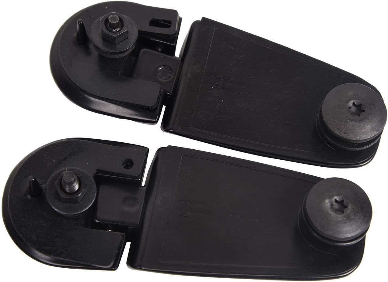 Bapmic 2L2Z-78420A69-AA Rear Left Right Liftgate Window Glass Hinges for Ford Explorer Mercury Mountaineer 02-05