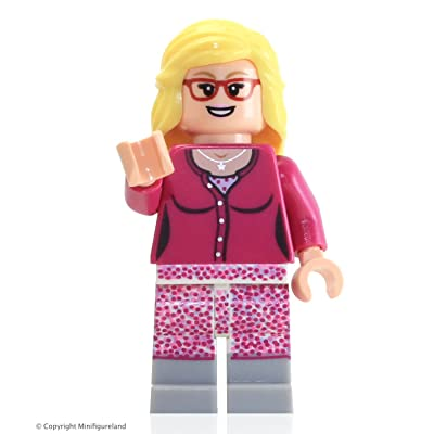LEGO Ideas Big Bang Theory Minifigure - Bernadette (Exclusive 21302): Toys & Games
