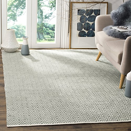 Safavieh Marbella Collection MRB281A Flat Weave Lilac Wool Area Rug 5 x 8