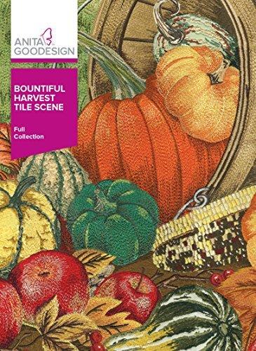 - Anita Goodesign Full Bountiful Harvest Tile Scene 292AGHD
