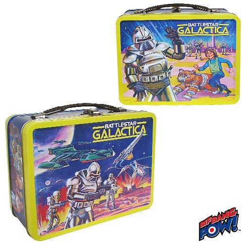 Battlestar Galactica Retro Tin Tote – Lunch Box