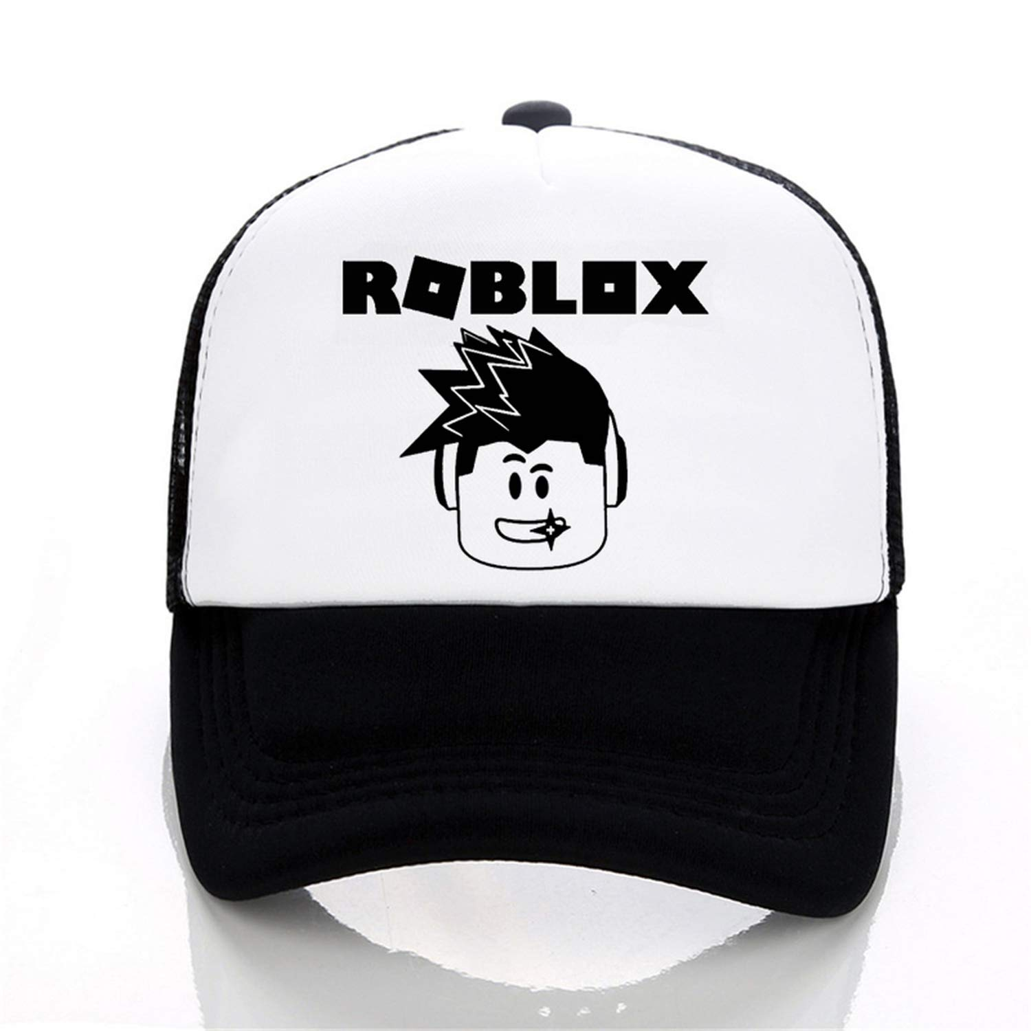 afcfd20b3f5b7 Hot Roblox hat Games Rock Band Baseball caps Cool Cosplay Cap Unisex Figure  Pointy Summer mesh Snapback Hats Army Green at Amazon Women s Clothing  store