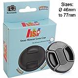 JSP Snap Lens Cap Cover 58mm For Sony, Nikon, Canon, Panasonic, Fuji, Tamron, Sigma, Pentax lens