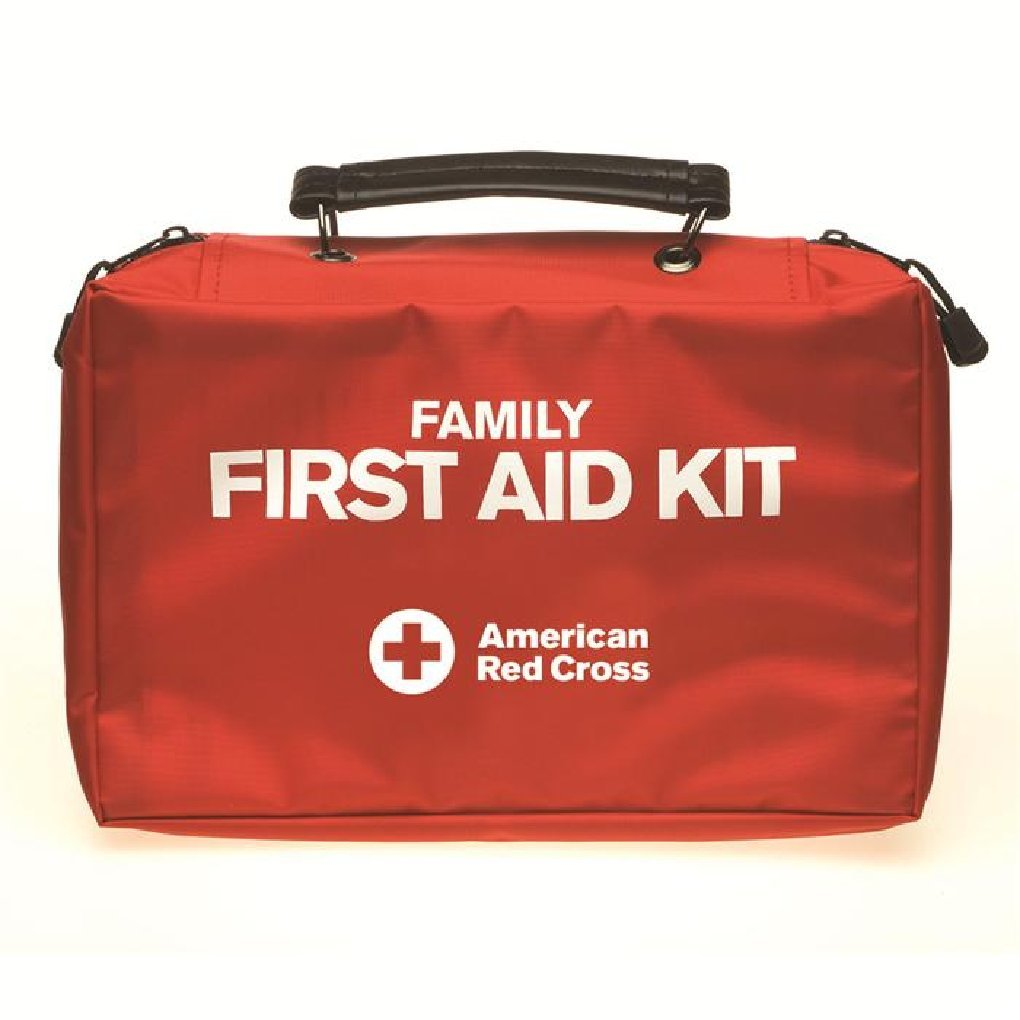 First Aid Only 9162-RC Deluxe Family First Aid Kit, Soft Case