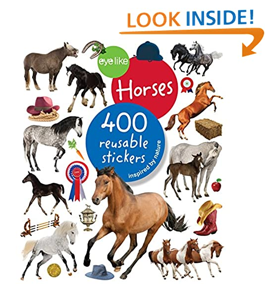 Horse gifts for kids amazon eyelike stickers horses negle Gallery