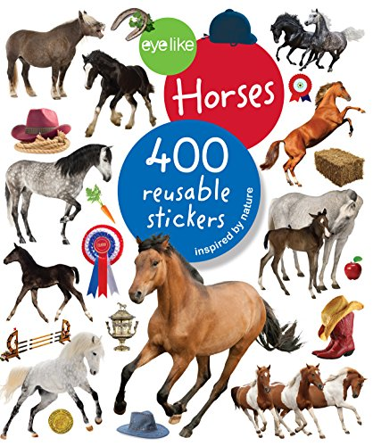 Eyelike Stickers: Horses (Motor Planning Activities For 2 Year Olds)