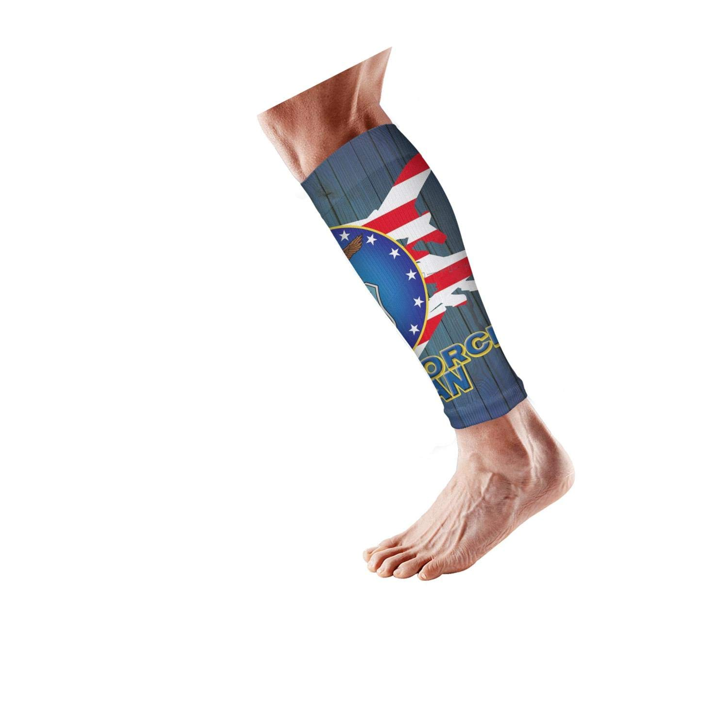 Smilelolly us air force veteran Calf Compression Sleeves Helps Pain Relief Leg Sleeves for Men Women