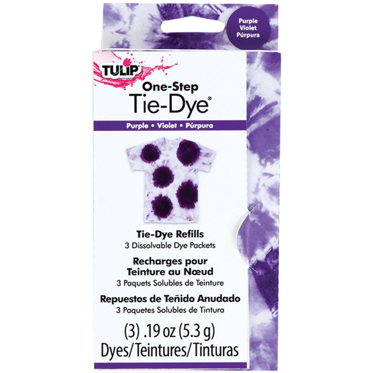Tulip 29040 One-Step Dye Refills, Purple