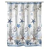 Avanti Linens Antigua Shower Curtain, Multi-Colored